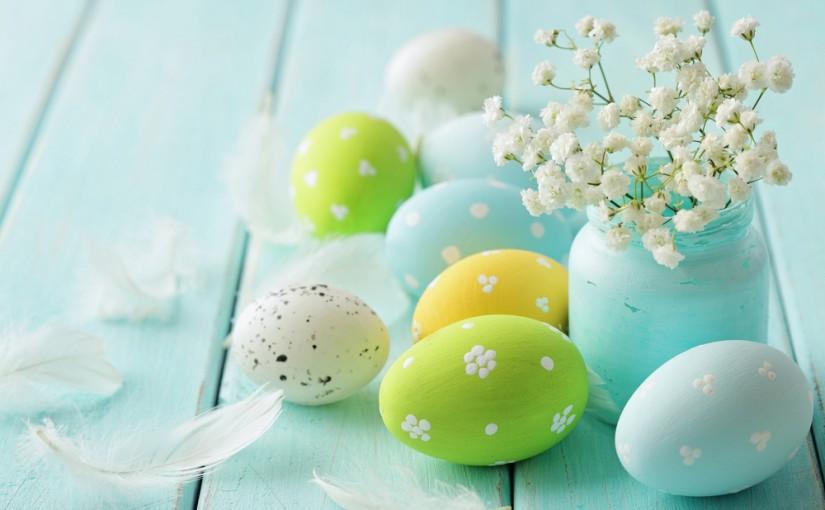Ihastuttavia, helppoja pääsiäiskoristeluja